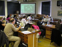 Microscope-based taxonomy session